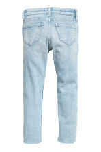 Superstretch Skinny Fit Jeans - 淺丹寧藍/愛心 -  | H&M 3