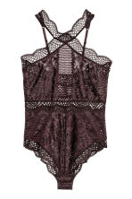 Bodysuit - Brown - Ladies | H&M CN 2