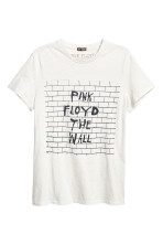 Light grey/Pink Floyd