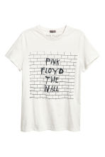 棉質平紋T恤 - Light grey/Pink Floyd - Men | H&M 2