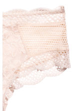 Lace hipster briefs - Light beige - Ladies | H&M 3