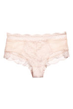 Lace Hipster Briefs - Light beige - Ladies | H&M CA 2