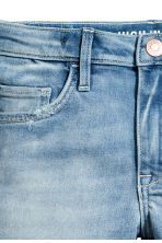 Denim short - High waist - Licht denimblauw - KINDEREN | H&M NL 4