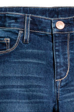Superstretch Skinny Fit Jeans - Dark denim blue - Kids | H&M 4