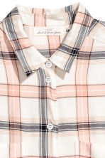 Flannel shirt - Natural white - Ladies | H&M 3