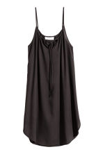 Slip Dress - Black -  | H&M 2