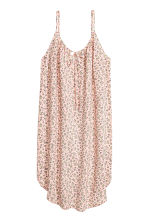 Slip Dress - Powder pink/Floral -  | H&M CN 2