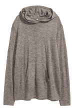 Fine-knit hooded jumper - null - Ladies | H&M CN 2
