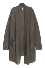 Knitted cardigan - Dark grey - Ladies | H&M 2