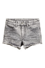 Twill shorts - Grey washed out - Kids | H&M CN 2