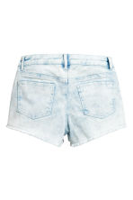 Twill shorts - Denim blue/Acid - Kids | H&M 3