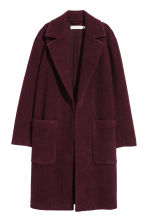 Wool-blend coat - Plum - Ladies | H&M 2