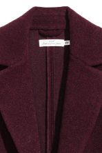 Wool-blend coat - Plum - Ladies | H&M 3