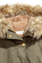 Parka with an inner jacket - Khaki green - Ladies | H&M 4