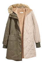 Parka with an inner jacket - Khaki green - Ladies | H&M 3