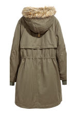 Parka with an inner jacket - Khaki green - Ladies | H&M 5