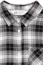 Flannel shirt - Grey/Checked - Kids | H&M 3