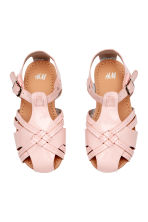 Sandales vernies - Rose clair -  | H&M FR 3