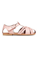Sandales vernies - Rose clair -  | H&M FR 2