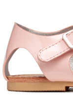 Sandales vernies - Rose clair -  | H&M FR 5