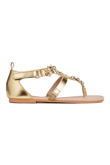 Sandals - Gold - Kids | H&M