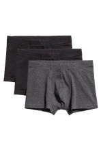 3-pack boxer shorts - Black/Grey -  | H&M 2