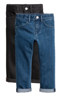 Pack de 2 Slim fit Jeans