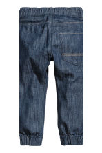 2-pack denim joggers - Denim blue/Dark denim blue - Kids | H&M CN 4