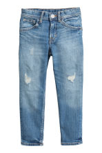 Relaxed Tapered Worn Jeans - Bleu denim - ENFANT | H&M FR 2