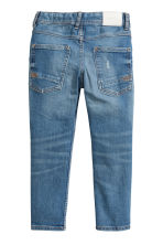 Relaxed Tapered Worn Jeans - Denim blue - Kids | H&M 3