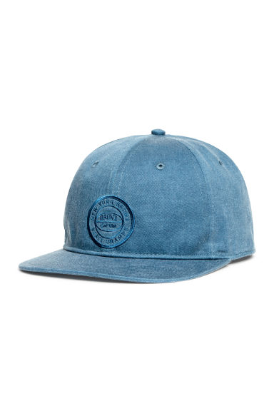 Unconstructed cotton cap - Blue/New York - Men | H&M CN 1
