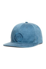 Unconstructed cotton cap - Blue/New York - Men | H&M 1