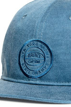 Unconstructed cotton cap - Blue/New York - Men | H&M 3