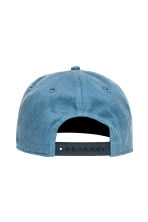 Unconstructed cotton cap - Blue/New York - Men | H&M 2