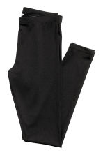 Jersey leggings with a sheen - Black - Ladies | H&M CA 4