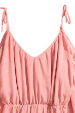 Chiffon dress - Coral pink - Ladies | H&M 3