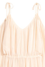 Chiffon dress - Natural white - Ladies | H&M 3
