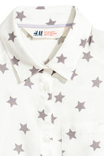 Sleeveless blouse - White/Stars - Kids | H&M 3