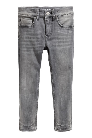 Superstretch Skinny Fit Jeans - Gri kot - ÇOCUK | H&M TR