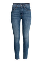Skinny High Ankle Jeans - 深牛仔蓝 - Ladies | H&M CN 3