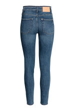 Skinny High Ankle Jeans - 深牛仔蓝 - Ladies | H&M CN 4