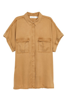 Utility-Bluse aus Lyocell