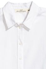 Cotton shirt - White - Ladies | H&M IE 3
