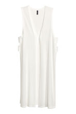 Ribbed gilet - White - Ladies | H&M CN 2