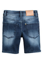 Superstretch denim shorts - Dark denim blue - Kids | H&M 3