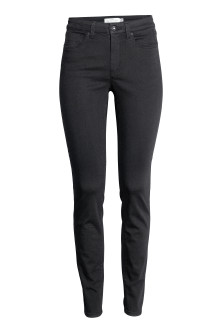 Ankle-length stretch trousers