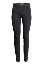 Ankle-length stretch trousers - Black - Ladies | H&M 2