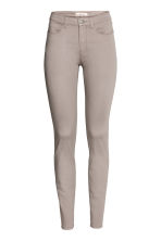 Enkellange stretchbroek - Taupe - DAMES | H&M BE 2