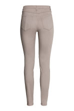 Enkellange stretchbroek - Taupe - DAMES | H&M BE 3