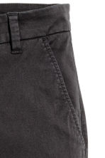Cotton chinos - Black - Ladies | H&M 3